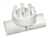 "672-5070 3/8"" Waterway Barb Manifold  1"" Slip x 1"" Slip ( 8 ) 3/8"" Barbs"