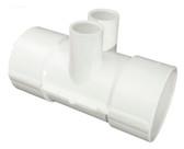 "672-7900 Waterway Manifold 2"" Slip x (2) 1/2"" Slip Ports"