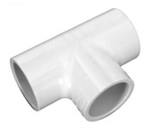 "401005  1/2"" Soc Tee Schedule 40 PVC Fitting  .5"""