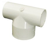 "413-2030  Tee Waterway 1"" S x 1"" S x 1.5"" S PVC Fitting"