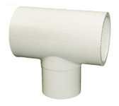 "413-2080  Tee Waterway 1"" S x 1"" S x 1"" SPG PVC Fitting"