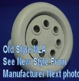 """*** NLA*** Great Lakes Spa Jet 5"""" Pulsating Face 7 Port Dark Gray Scallop 2002-2007 # 40019400 Replaces Old # 40002911 Std Gray"""