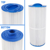 "Jacuzzi Spa Cartridge Filter 15 1/2"" L x 6 5/8"" W x 2"" SAE Thread Jacuzzi 300 & 400 Series Spas Same As: 6540-476 , 6CH-960 , FC-2800 , PJW60TL ,"