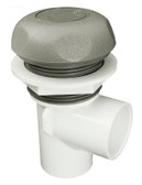 "Waterway 1"" On / Off Valve Gray 5 Scallop Style 600-4367B"