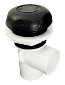 "Waterway 1"" On / Off Valve Black 5 Scallop Style 600-4361"