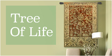 Shop our Tree of Life Wall Tapestry Collection.
