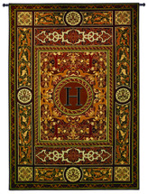 """Monogram Medallion H 