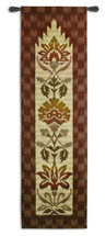 Fine Art Tapestries Ikat Avani Hand Finished European Style Jacquard Woven Wall Tapestry  USA Size 87x26 Wall Tapestry