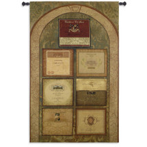 The Wine Cellar Wall Tapestry Wall Tapestry