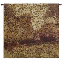 Fine Art Tapestries Migration Hand Finished European Style Jacquard Woven Wall Tapestry  USA Size 53x53 Wall Tapestry