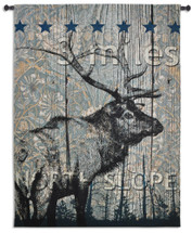 Fine Art Tapestries North Slope Hand Finished European Style Jacquard Woven Wall Tapestry USA 72X53 Wall Tapestry