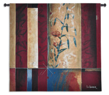 Fine Art Tapestries Tiger Lily Hand Finished European Style Jacquard Woven Wall Tapestry USA 52X53 Wall Tapestry