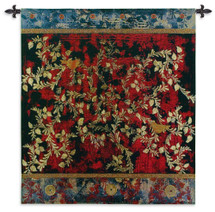 Fine Art Tapestries Love Birds Hand Finished European Style Jacquard Woven Wall Tapestry USA 55X53 Wall Tapestry