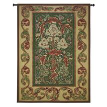 Acanthus by William Morris | Woven Tapestry Wall Art Hanging | Fruit Tree Floral Bird Acanthus Leaves Rich Color Intricate Design In A Classic Motif | 100% Cotton USA 82X60 Wall Tapestry