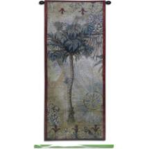 Fine Art Tapestries Masoala Panel II Hand Finished European Style Jacquard Woven Wall Tapestry  USA Size 53x22 Wall Tapestry