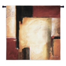 West By Noah Li-Leger - Woven Tapestry Wall Art Hanging - Southwestern Navajo Motif Abstract Geometric Shapes - 100% Cotton - USA Wall Tapestry