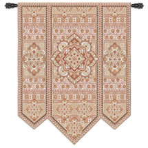 Fine Art Tapestries Masala Clove Hand Finished European Style Jacquard Woven Wall Tapestry  USA Size 67x53 Wall Tapestry