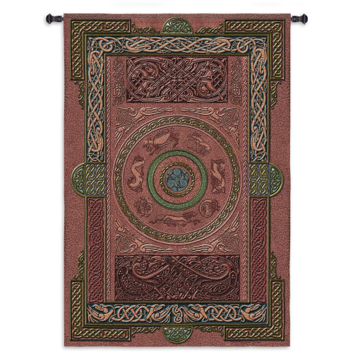 Fine Art Tapestries Ashling Hand Finished European Style Jacquard Woven Wall Tapestry  USA Size 80x53 Wall Tapestry