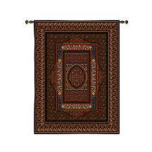 Fine Art Tapestries Morocco Hand Finished European Style Jacquard Woven Wall Tapestry  USA Size 107x63 Wall Tapestry
