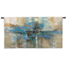Morning Fjord Medium Wall Tapestry Wall Tapestry