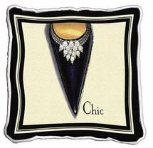 Chic Stiletto Pillow Pillow