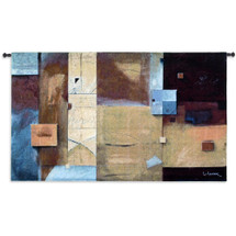 Poet's Cause by Don Li-Leger   Woven Tapestry Wall Art Hanging   Abstract Modern Geometric Patterns   100% Cotton USA Size 88x52 Wall Tapestry