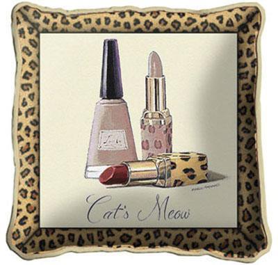 Cats Meow Pillow Pillow