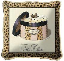 Tres Kitten Pillow Pillow