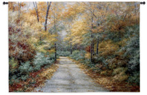 Windsong by Diane Romanello | Woven Tapestry Wall Art Hanging | Realistic Romantic Nature Landscape | 100% Cotton USA Size 37x53 Wall Tapestry