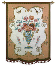 Fine Art Tapestries Aubusson Hand Finished European Style Jacquard Woven Wall Tapestry  USA Size 72x53 Wall Tapestry