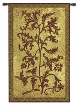 Acanthus Vine by William Morris | Woven Tapestry Wall Art Hanging | Thrush Birds Stealing Fruit Intricate Floral Design | 100% Cotton USA Size 75x44 Wall Tapestry