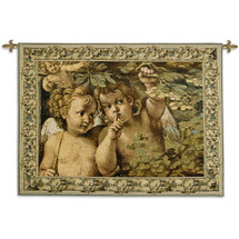 Whispering Angel Wall Tapestry Wall Tapestry