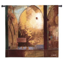 Fine Art Tapestries Exotic Journey Hand Finished European Style Jacquard Woven Wall Tapestry USA 53X53 Wall Tapestry