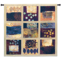 Fine Art Tapestries Unexpected Breeze Hand Finished European Style Jacquard Woven Wall Tapestry  USA Size 53x53 Wall Tapestry