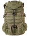 "The new Mystery Ranch 2 Day Assault Pack is a scaled-down option for non-military enthusiasts built into a smaller, everyday urban size and functionality. Enough MOLLE on sides and back of pack to entertain substitutions from flash-bang pocket attachments to urban necessities. All the bells and whistles you would expect in a 3 Day Assault Pack with the integrated floating computer sleeve for a non-combative lifestyle. Side Pouches accommodate the Heavy Cover USGI Style Titanium Canteen Mess Kit.  Features:  Classic 3-ZIP design for easy, rapid access to the interior Two zippered lid pockets VELCRO® pile on top of lid for morale patches Interior dump pockets Adjustable yoke Main compartment and side zip access to floating, padded sleeve that fits laptops up to 15"" and document/tablet sleeve pocket  Two interior mesh pockets Full-length plastic frame sheet Removable web waist belt  Compression straps MOLLE on exterior 1648 cu-inches 500D CORDURA® fabric and YKK® zippers"