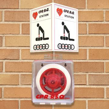 Cpr Rsq Assist With Wall Mount Stop Heart Attack