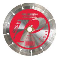 Pearl Abrasive P2 Pro-V Segmented Diamond Blade 5 x .080 x 7/8- 5/8 Adapter PV005S
