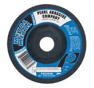 Pearl Abrasive T-27 Aluminum Oxide Flexible Grinding Wheels AC36, AC46 or AC60 Grit 10ct Case 9 x 1/8 x 5/8- 11 FAC9036H, FAC9046H, FAC9060H