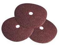 Pearl Abrasive Silver Line Aluminum Oxide Fiber Disc 25ct Case A24 Grit 5 x 7/8 FD5024X