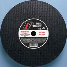 Pearl Abrasive T-1 Aluminum Oxide Premium Cut Off Wheel for Chop and Stationary Saws 10ct Box A36T Grit 12 x 1/8 x 1 CW1220