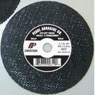 Pearl Abrasive T-1 Premium Aluminum Oxide Small Diameter Cut Off Wheel 25ct Case A46T Grit 4 x 1/16 x 3/8 CW0410