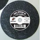 Pearl Abrasive T-1 Premium Aluminum Oxide Small Diameter Cut Off Wheel 25ct Case A46T Grit 4 x 1/8 x 1/4 CW0460