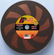 Pearl Abrasive T-1 SRT Contaminant Free Hi-Speed Cut Off Wheel for Gas Powered Saws 10ct Case SRT36 Grit 14 x 1/8 x 1 or 20mm CW14GSR, CW142GSR