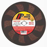 Pearl Abrasive SRT T-1 Contaminant Free Cut Off Wheel for Metal and Stainless Steel 25ct Case SRT46 Grit 3 x 1/16 x 1/4 CW330SRT