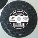 Pearl Abrasive T-1 Premium Aluminum Oxide Small Diameter Cut Off Wheel 25ct Case A46T Grit 4 1/2 x 1/16 x 7/8 CW4510