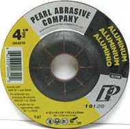 Pearl Abrasive T-27 D. A. Series Aluminum Depressed Center Grinding Wheel AL24M Grit 10ct Case 7 x 1/4 x 7/8 DA7020
