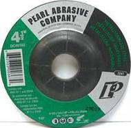 Pearl Abrasive T-27 Zirconia Depressed Center Grinding Wheel Z24T Grit 10ct Case 7 x 1/4 x 7/8 DC703Z
