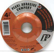 Pearl Abrasive T-27 SRT Contaminant Free Depressed Center Grinding Wheel 10ct Case SRT24 Grit 4 1/2 x 1/4 x 5/8- 11 DCSRT45H