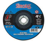 Pearl Abrasive T-27 Aluminum Oxide Slimcut 45 Thin Cut Off Wheel 25ct Case A46 Grit 7 x .045 x 7/8 DCW07A