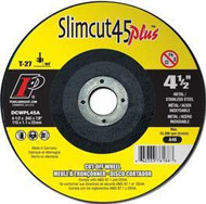Pearl Abrasive T-27 Aluminum Oxide Slimcut 45 Plus Thin Cut Off Wheel 25ct Case A46 Grit 6 x .045 x 7/8 DCWPL06A